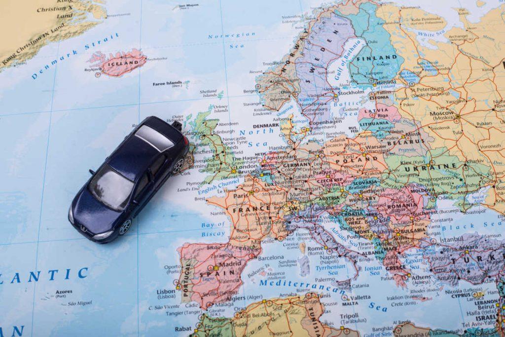 Cómo mandar un coche al extranjero
